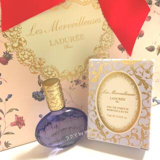 レメルヴェイユーズラデュレ(Les Merveilleuses LADUREE)の未使用 メルヴェイユーズ 5ml LADUREE(香水(女性用))