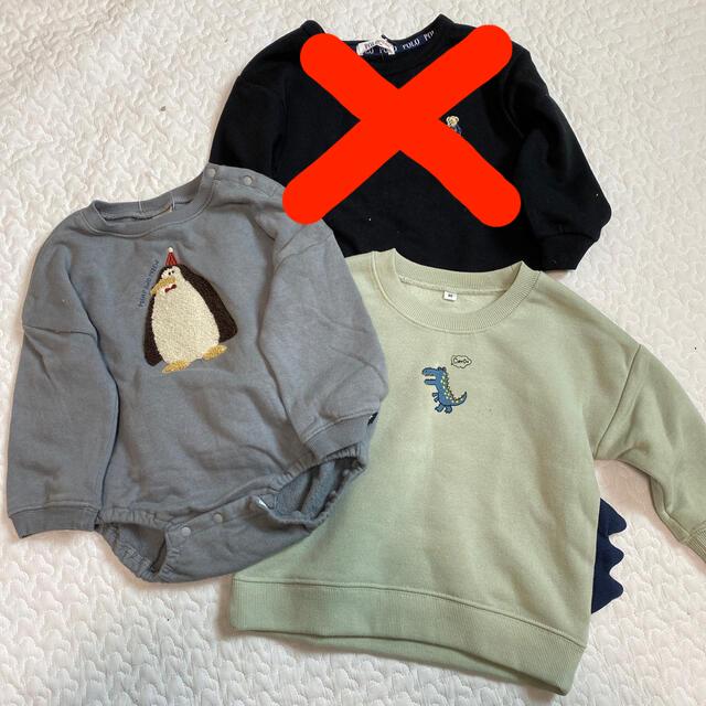 futafuta(フタフタ)のfutafuta*polo*バースデー*ベビー服*トレーナー*スエット キッズ/ベビー/マタニティのベビー服(~85cm)(トレーナー)の商品写真