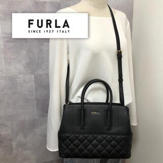 Furla - 希少!限定デザイン!【極美品】フルラ TESSA 2way キルティング