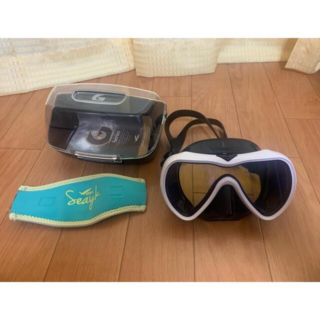 GULL(ガル)のGULL ガル  ヴェイダー VADER ダイビング・シュノーケリング マスク スポーツ/アウトドアのスポーツ/アウトドア その他(マリン/スイミング)の商品写真