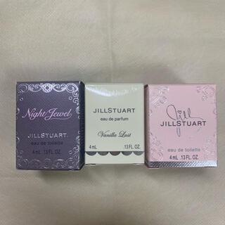 JILLSTUART - ジルスチュアート オードパルファンミニボトルセット