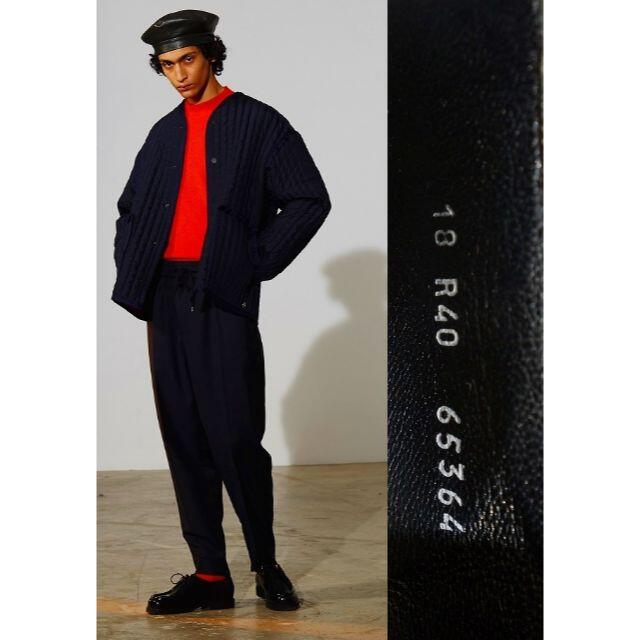 Paraboot(パラブーツ)のパラブーツ × エチュード ミカエル レザー モック ブーツ 1227K▲ メンズの靴/シューズ(ドレス/ビジネス)の商品写真