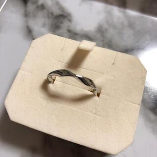 新品 ねじり リング 15号 シルバー ✨ 指輪(リング(指輪))
