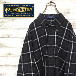 ペンドルトン(PENDLETON)の希少 ペンドルトン シャツ ボタンダウン ビックシルエット 美品(シャツ)