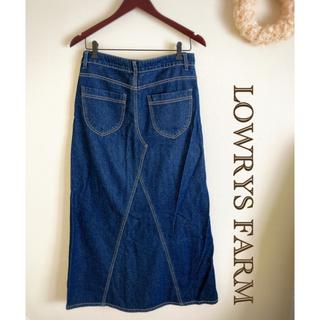LOWRYS FARM - ローリーズファーム L ロングデニムスカート