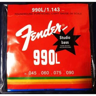 フェンダー(Fender)の 送料無料★Fender★激安エレキベース弦★1~4弦セット★ライトゲージ(弦)