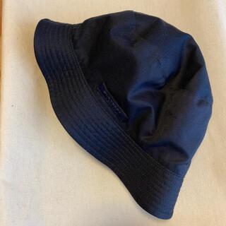 BURBERRY - Burberry 帽子 リバーシブル 紺 チェック