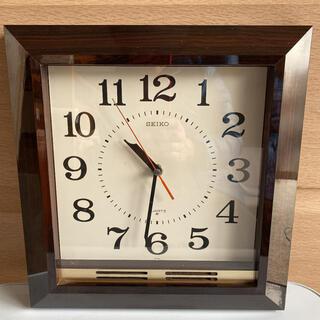 セイコー(SEIKO)の木製壁掛け時計(掛時計/柱時計)
