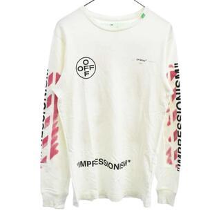 OFF-WHITE - OFF-WHITE オフホワイト 長袖Tシャツ