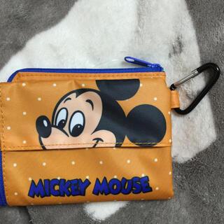Disney - ミッキー ポーチ マスクポーチ レトロ ディズニー