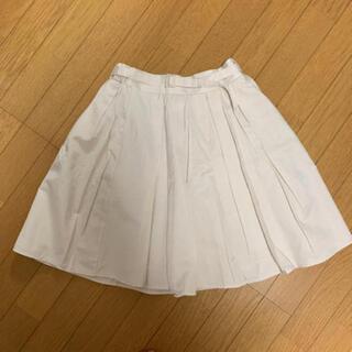 エムズエキサイト(EMSEXCITE)のエムズエキサイト / オフホワイト ♡ フレアスカート(ひざ丈スカート)