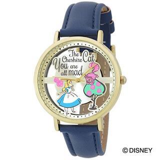 ディズニー(Disney)の【送料無料】ディズニー アリス&チェシャ猫 キャラクターウォッチ(腕時計)