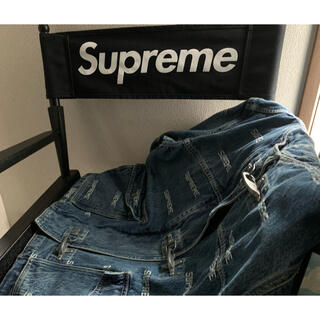 Supreme - supreme Logo Denim Turnout Jacket