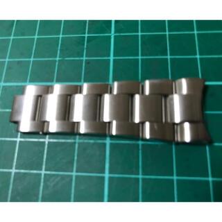ロレックス(ROLEX)のダイバー補修用パーツ  ROLEX 20mm 無垢ブレス 刻印有 ステンレス製(金属ベルト)