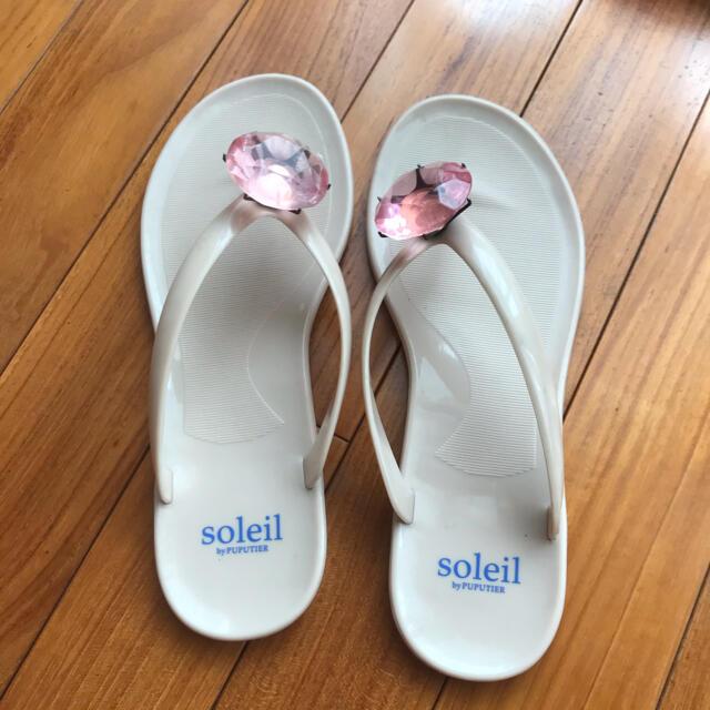 SOLEIL(ソレイユ)のソレイユ ビーサン レディースの靴/シューズ(ビーチサンダル)の商品写真