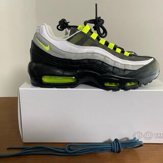 ナイキ(NIKE)の27cm Nike air Max 95 NEON イエグラ風(スニーカー)