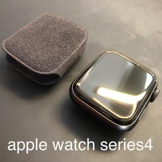 Apple Watch - 【おまけ多数】 apple watch series 4 40mm グレイ