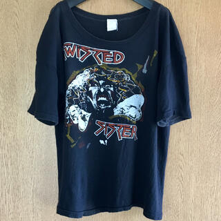 80s vintage TWISTED SISTER tシャツ