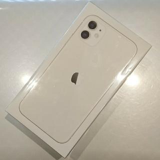 iPhone - 【新品・未使用】iPhone 11 WHITE 64GB ドコモ simフリー