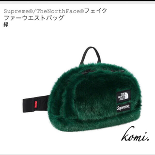 Supreme - supreme®/Faux Fur Waist Bag