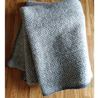 クリッパン(KLIPPAN)のクリッパン ラムウール スローケット ドミノ(毛布)