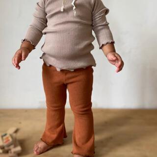 キャラメルベビー&チャイルド(Caramel baby&child )のピピロッタ フレアパンツ 完売品 90(パンツ/スパッツ)