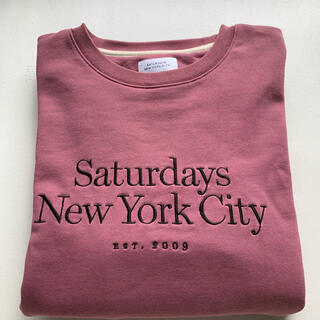 SaturdaysNewYorkCityトレーナー