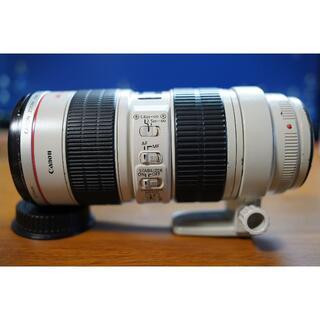 キヤノン(Canon)の【三脚座付】EF70-200mm F2.8L IS USM(レンズ(ズーム))