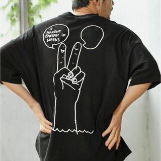 Mark Gonzales ビッグシルエットTシャツ
