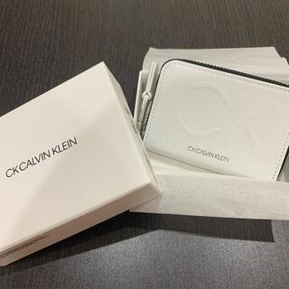 カルバンクライン(Calvin Klein)のCalvin Klein 財布 キーケース 小銭入れ ホワイト(コインケース/小銭入れ)