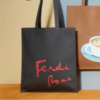 FENDI - 定価218200円FENDI 18ss Romaフェンディ レザートートバッグ