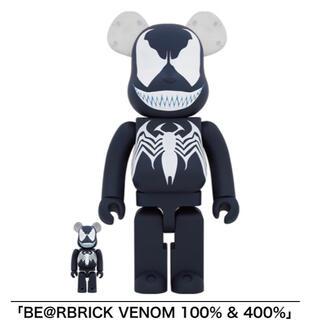 新品 BE@RBRICK VENOM 100%&400% ベアブリック ヴェノム