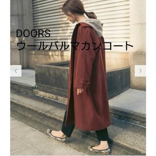 DOORS / URBAN RESEARCH - DOORS ウールバルマカンコート
