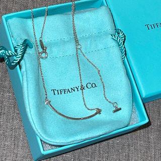 ティファニー(Tiffany & Co.)のTiffany✩スマイルネックレス✩翌日配送✩(ネックレス)