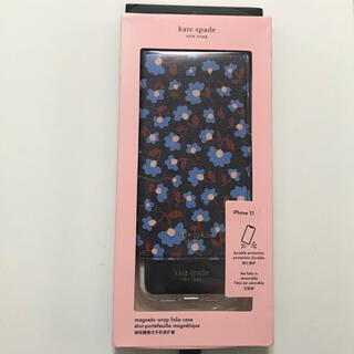 ケイトスペードニューヨーク(kate spade new york)の新品 kate spade iphone 11ケース フラワー(iPhoneケース)