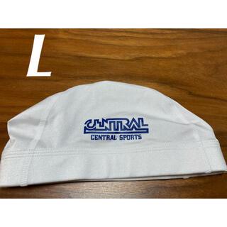 ミズノ(MIZUNO)のセントラル 帽子 白(マリン/スイミング)