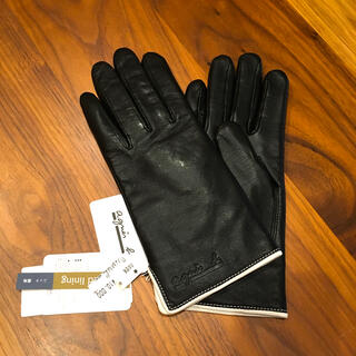 agnes b. - アニエスベー  レザー手袋 新品未使用 タグ付き