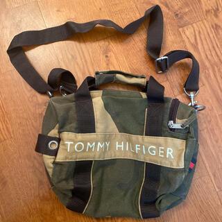 トミーヒルフィガー(TOMMY HILFIGER)のTOMMY トミーヒルフィガー ショルダーバッグ ハンドバッグ 迷彩(ショルダーバッグ)