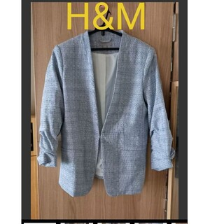 エイチアンドエム(H&M)のH&M のジャケット参観日オケージョンにも(ノーカラージャケット)