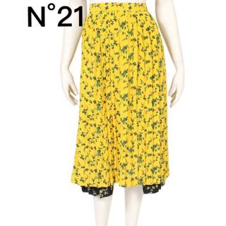 ヌメロヴェントゥーノ(N°21)の新品 N°21 ヌメロヴェントゥーノ スカート(ロングスカート)