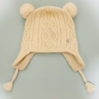 ポロラルフローレン(POLO RALPH LAUREN)のポロ ラルフローレン ニット帽 4x-6x クマ耳 帽子 4歳 5歳 6歳(帽子)