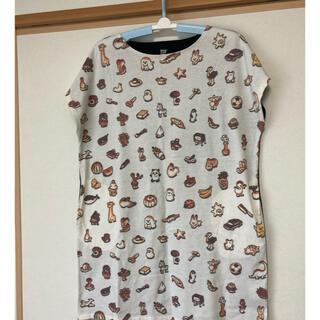 グラニフ(Design Tshirts Store graniph)のグラニフ☆からすのパンやさん☆チュニック(ひざ丈ワンピース)