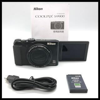 ニコン(Nikon)の【説明文必読】 Nikon COOLPIX S9900 ブラック(コンパクトデジタルカメラ)