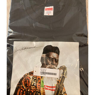 シュプリーム(Supreme)のSupreme Pharoah Sanders Tee ネイビー XL(Tシャツ/カットソー(半袖/袖なし))