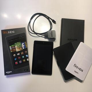 美品♪ Amazon Kindle Fire HD6(電子ブックリーダー)