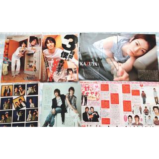 カトゥーン(KAT-TUN)の亀梨和也 雑誌 切り抜き 8ページ(アイドルグッズ)