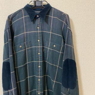 ペンドルトン(PENDLETON)の【レア】PENDLETON チェックシャツ コーデュロイ(シャツ)