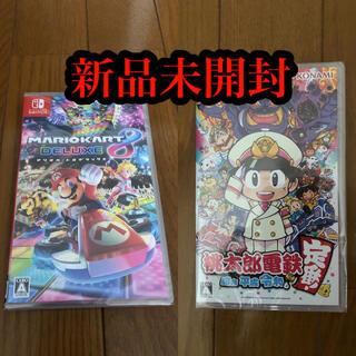 Nintendo Switch - Switch ソフト セット 桃太郎電鉄 マリオカート8 デラックス
