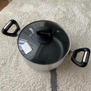 ニトリ(ニトリ)のニトリ両手鍋 蓋付き(鍋/フライパン)