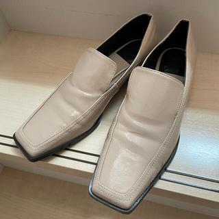 ザラ(ZARA)のZARA パテントローファー(ローファー/革靴)